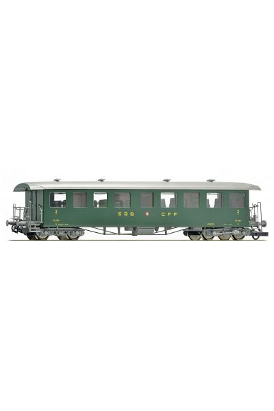 Roco 64503 Вагон пассажирский Seetalbahnwagen ABi 2./3кл.SBB Epoche IV 1/87