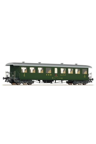 Roco 64504 Вагон пассажирский Seetalbahnwagen C4 3кл.SBB Epoche IV 1/87