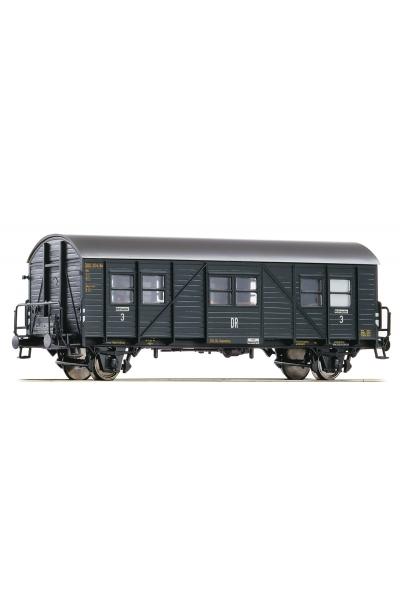 Roco 64604 Вагон пассажирский 3кл DRG Epoche II 1/87