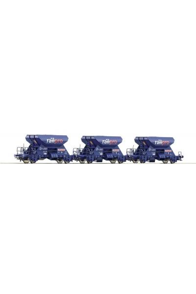 Roco 66057 Набор вагонов для баласта Railpro PRIVAT Epoche V 1/87