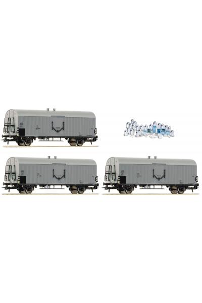 Roco 67118 Набор вагонов Icrs-v 3шт OBB Epoche IV-V 1/87 VN
