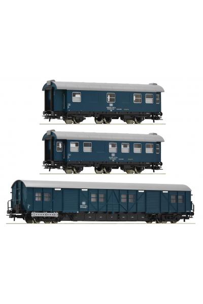 Roco 67198 Набор вагонов Bauzugwagen DB Epoche IV 1/87