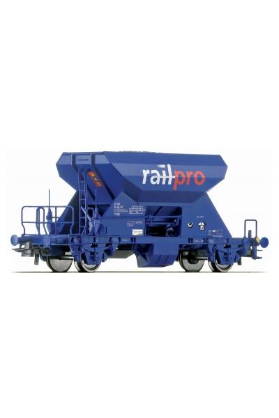 Roco 67233 Вагон для баласта Railpro PRIVAT Epoche V 1/87
