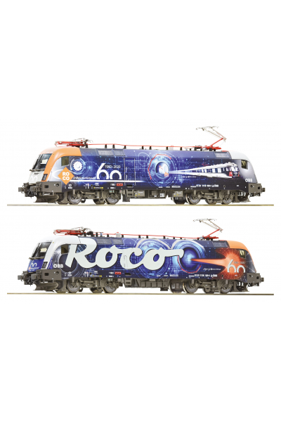 Roco 70486 Электровоз 1116 60 лет ROCO OBB Звук DCC Epoche VI 1/87
