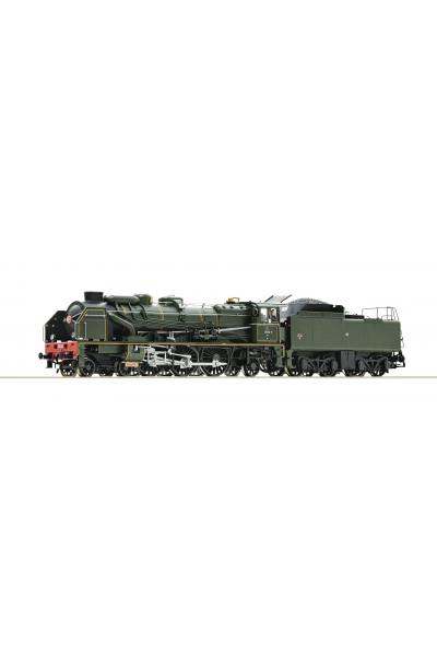 Roco 73079 Паровоз 231E SNCF ЗВУК DCC Epocha III 1/87