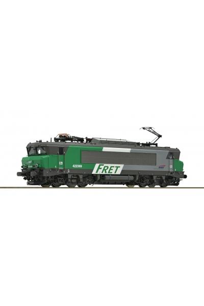 Roco 73884 Электровоз BB 422369 FRET SNCF ЗВУК DCC Epoche V 1/87