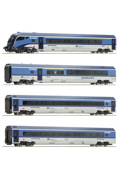 Roco 74065 Набор вагонов Railjet CD CD Epoche VI 1/87