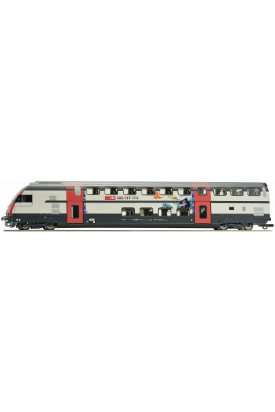 Roco 74505 Вагон пассажирский IC 2000 Bt SBB Epocha VI 1/87 RO