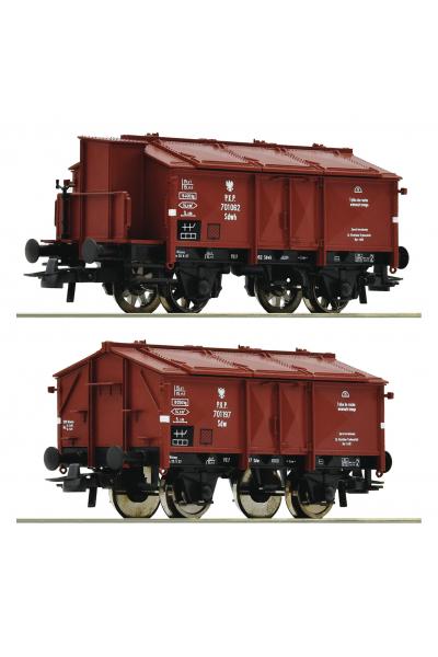 Roco 76043 Набор вагонов Gattung K 15 PKP Epoche 1/87