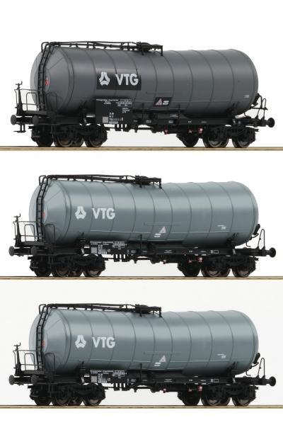 Roco 76126 Набор цистерн Zaes VTG DB AG Epoche V-VI 1/87 VN