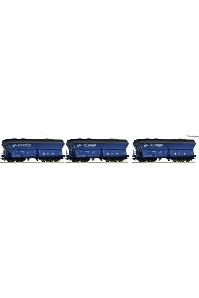 Roco 76130 Набор вагонов Falns PKP Cargo Epoche VI 1/87 VN
