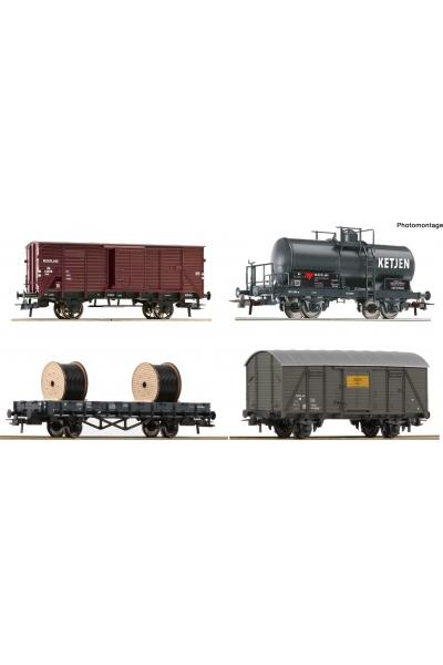 Roco 76134 Набор вагонов NS Epoche III 1/87 VN