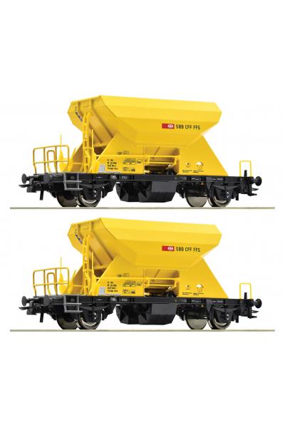 Roco 76154 Набор вагонов Fccnpps SBB Epoche VI 1/87 VN