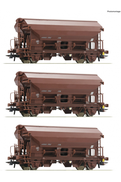 Roco 76180 Набор вагонов Tds OBB Epoche 1/87