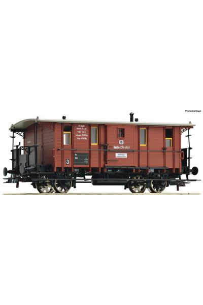 Roco 76409 Вагон Fakultativwagen K.P.E.V. Epoche I 1/87 VN