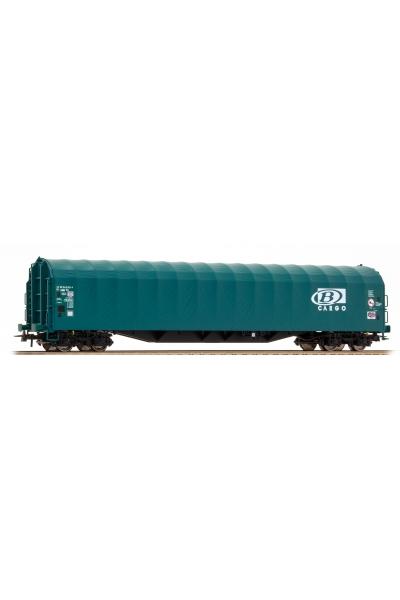 Roco 76470 Платформа с тентом Rilns SNCB B-Cargo Epoche V 1/87 VN