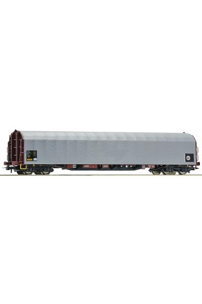 Roco 76475 Вагон платформа с тентом Rils SBB Epoche V-VI 1/87