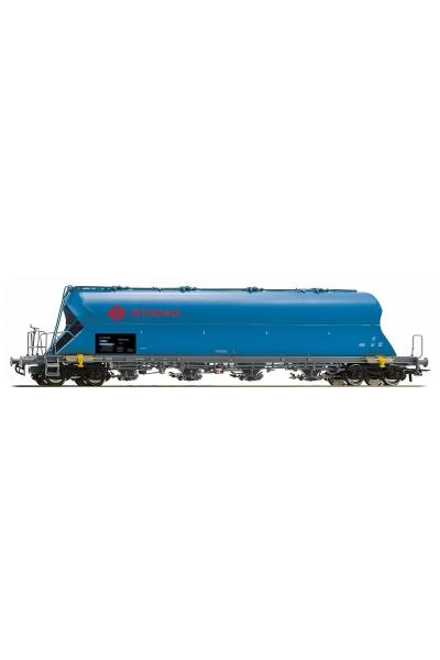 Roco 76702 Вагон для сыпучих грузов Ermewa DB AG Epoche V-VI 1/87