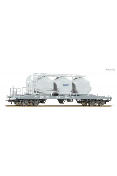 Roco 76882 Вагон  Uacs Privatbahn Epoche VI 1/87