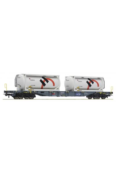Roco 76943 Вагон платформа Sgnss HOLCIM SBB Epoche VI 1/87 VN