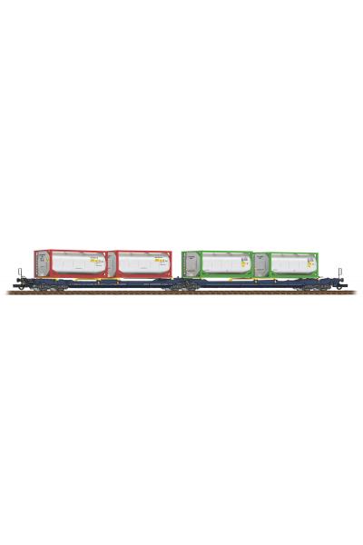 Roco 77388 Вагон Sdggmrs 738/T3000e Privatbahn Epoche 1/87