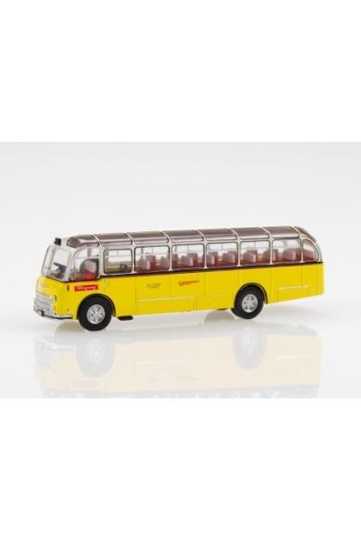 SwissLine 002202 Автобус FBW C40U Postbus PTT 1/87
