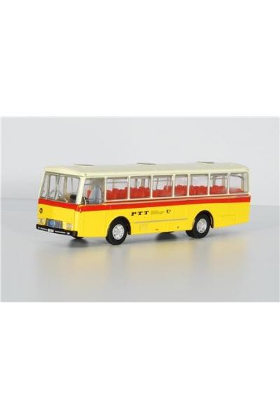 SwissLine 002604 Автобус Saurer 3DUK Reisebus PTT 1/87