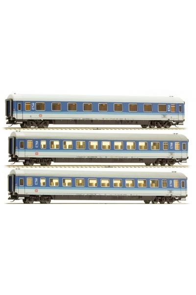 Tillig 01655 Набор вагонов FD Konigssee 1 DB Epoche IV 1/120
