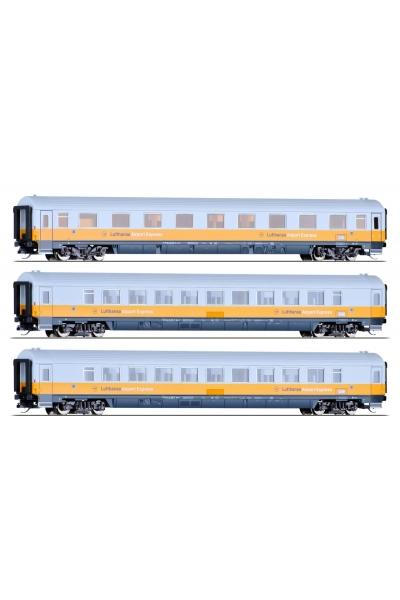 Tillig 01690 Набор вагонов Avmz 106 Bpmz 296 Airport-Express 2 DB Epoche IV 1/120