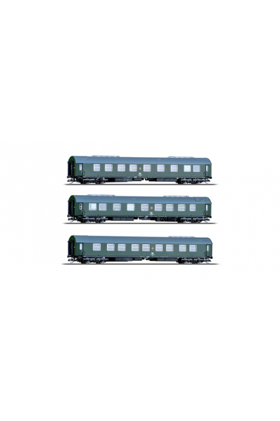 Tillig 01759 Набор вагонов Salonwagenzug 1 DR Epoche IV 1/120