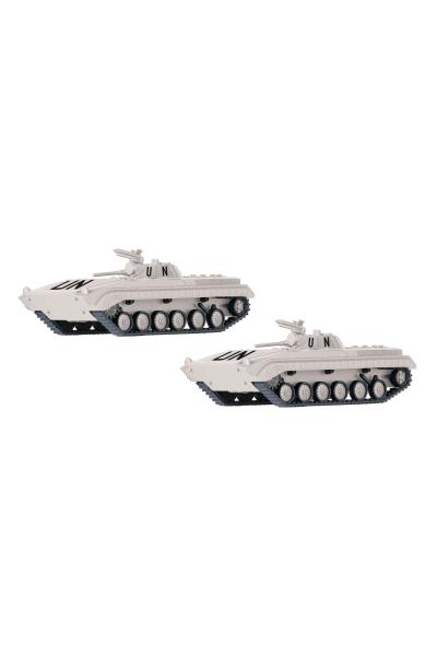 Tillig 07746 Набор BMP-1 2шт UN Epoche IV 1/120