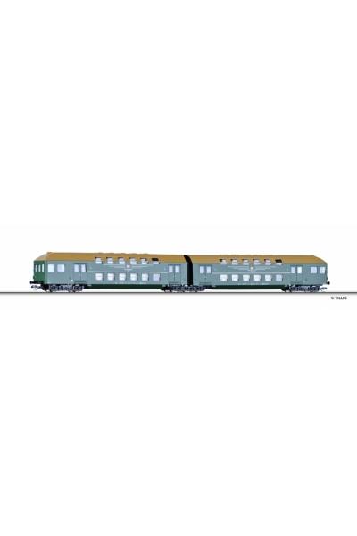 Tillig 13738 Набор вагонов 2шт DB AG Epoche V 1/120