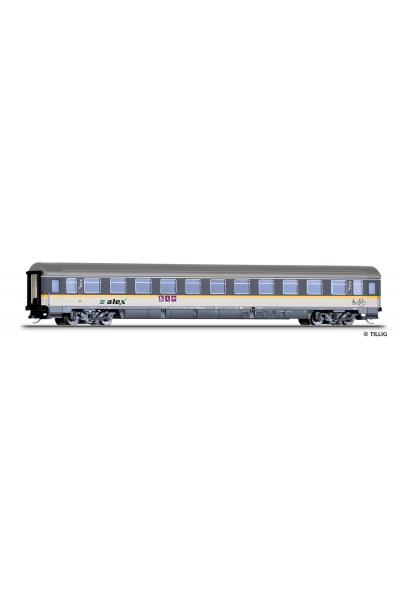 Tillig 16273 Вагон пассажирский ABbmdz Alex DLB GmbH PRIVAT Epoche VI 1/120