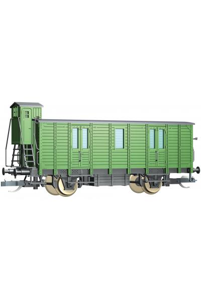 Tillig 17341 Вагон Bahnpostwagen DR Epoche II 1/120