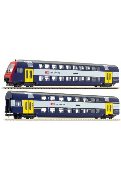 Tillig 70005 Набор вагонов S-Bahn Zurich SBB Epoche V-VI 1/87