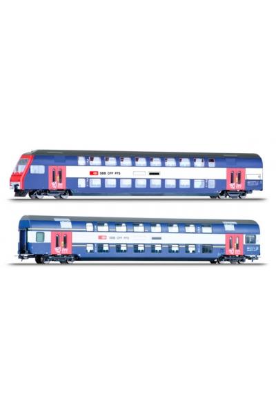 Tillig 74199 Набор вагонов S-Bahn Zurich SBB Epoche V-VI 1/87