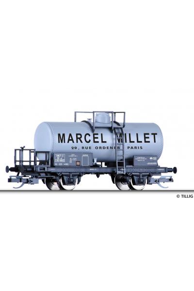 Tillig 95853 Вагон цистерна SCw Marcel Millet SNCF Epoche III 1/120