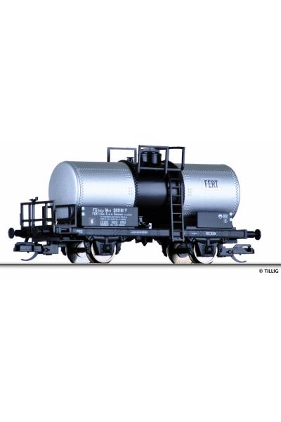 Tillig 95855 Вагон цистерна Typ Mvd FERT & Co FS Epoche III 1/120