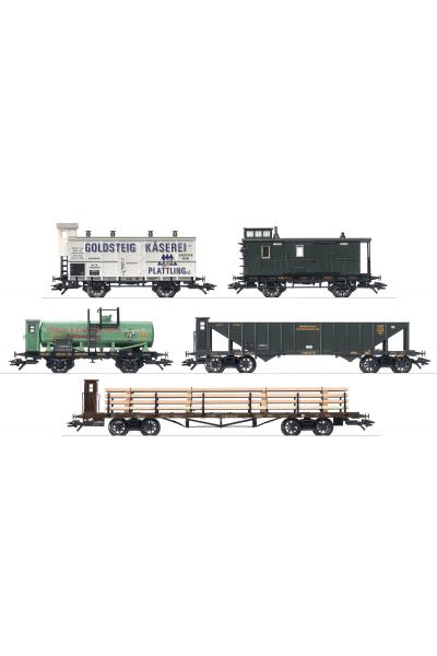Trix 24104 Набор вагонов G-wagen- K.Bay.Sts.E.B. Epoche I 1/87