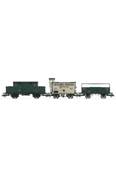 Trix 24116 Набор вагонов G-wagen- K.Bay.Sts.E.B. Epoche I 1/87