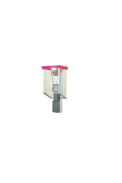 Viessmann 5073 Телефонная будка с подсветкой 1/87