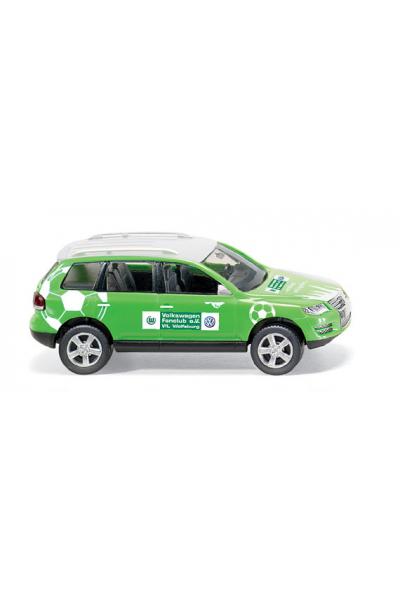 Wiking 006037 Автомобиль VW Touareg Fanclub VfL Wolfsburg 1/87