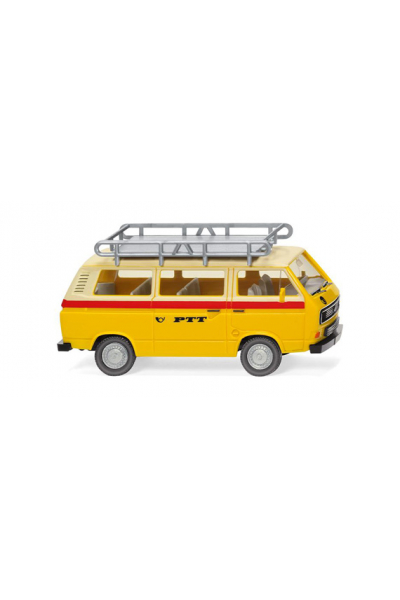 Wiking 029201 Автомобиль VW T3 Bus PTT Epoche IV-V 1/87