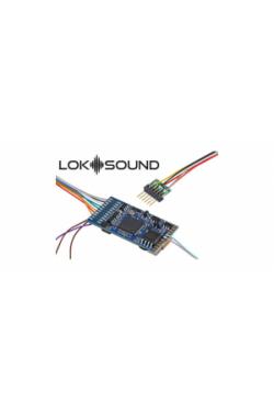 ESU 58416 Декодер звуковой LokSound 5 DCC/MM/SX/M4 6-pin NEM651